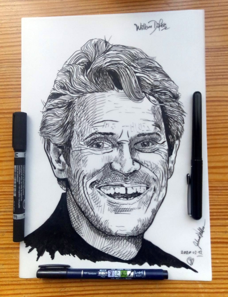 Willem Dafoe by veitsberger